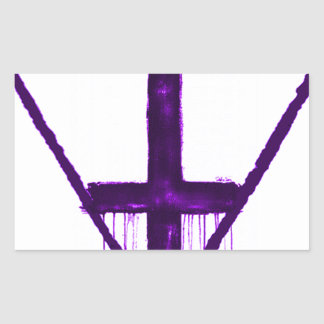 反宗教の反IlluminatiのiPhoneの場合 長方形シールステッカー
