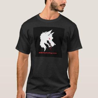 反対のロゴ Tシャツ