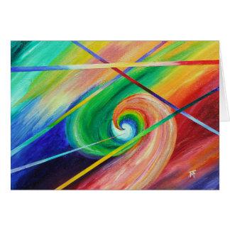 反対の魅力-抽象美術 カード