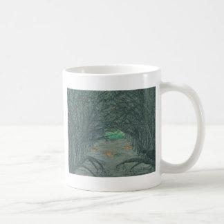 反対側への交差 コーヒーマグカップ