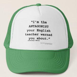 反対者はあなたの英語の先生警告しました キャップ