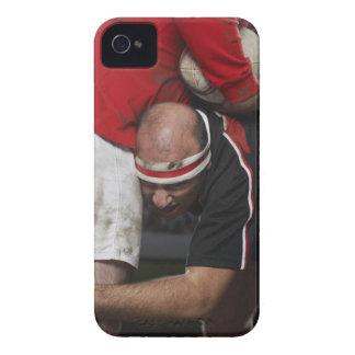 反対者、中間セクションを留めているラグビープレーヤー Case-Mate iPhone 4 ケース