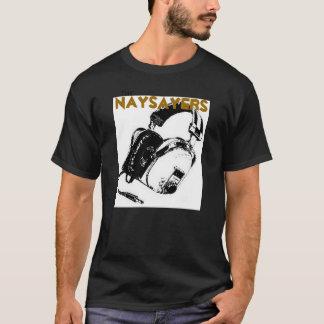 反対論者(黒) Tシャツ