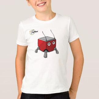 反射のBlokの馬蝿の幼虫の上 Tシャツ