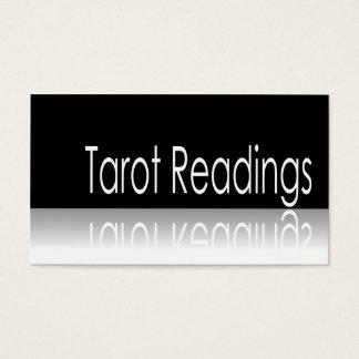 反射文字-タロットの読書-名刺 名刺