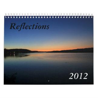 反射2012年 カレンダー