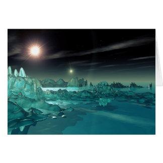 反射: バイナリの氷の惑星 カード