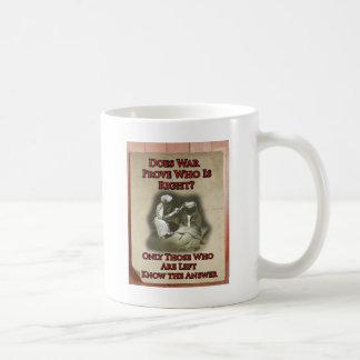 反戦ポスター コーヒーマグカップ
