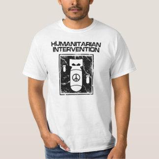 反戦人道主義の介在- Tシャツ