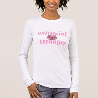 反社会的な10代の若者 Tシャツ