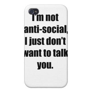反社会的 iPhone 4/4S カバー