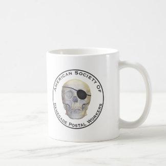 反逆する郵便局員 コーヒーマグカップ