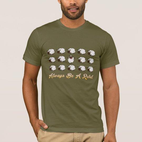 反逆のおもしろTシャツのデザインが常にあって下さい Tシャツ