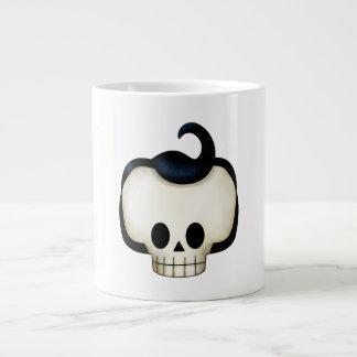 反逆のスカル ジャンボコーヒーマグカップ