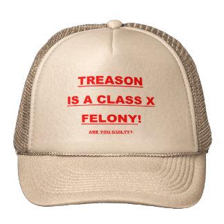 反逆の野球帽はクラスXの重罪です! トラッカーハット