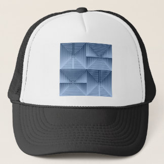 反響する青 キャップ