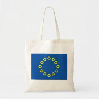 反EUはバッグをリサイクルする欧州連合に印を付けます トートバッグ
