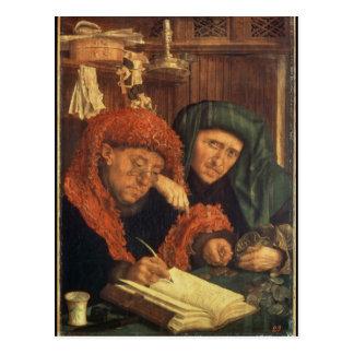 収税官1550年 ポストカード