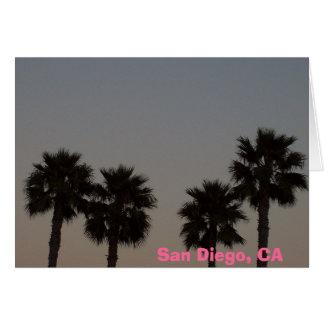 収穫されたやし、サンディエゴ、カリフォルニア カード