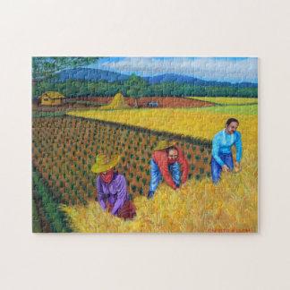 収穫の季節のパズル ジグソーパズル