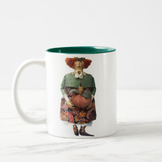 収穫ステラ ツートーンマグカップ