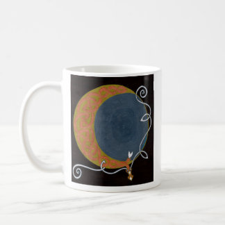 収穫月のマグ(背部) コーヒーマグカップ