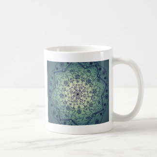 収穫月の曼荼羅-たそがれ コーヒーマグカップ