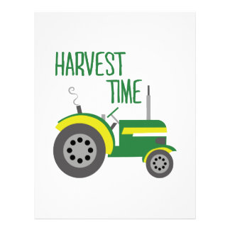 収穫期 レターヘッド