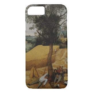 収穫機Pieter Bruegel年長者 iPhone 8/7ケース