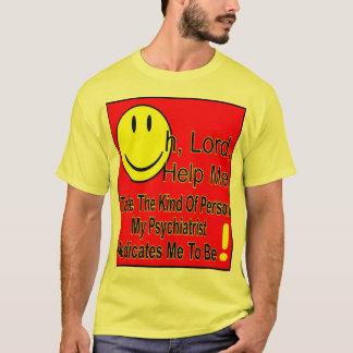 収縮T、薄い色 Tシャツ