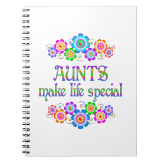 叔母さんは生命スペシャルを作ります ノートブック