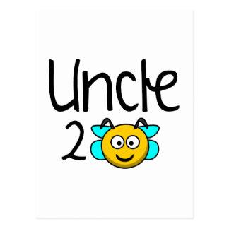叔父さん2蜂 ポストカード