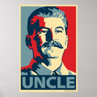 叔父さん-ジョースターリン: OHPポスター ポスター