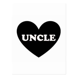 叔父さん ポストカード