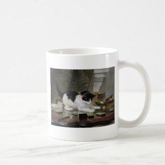 取った コーヒーマグカップ