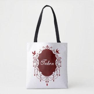 取られたかわいいゴシック様式バレンタインデーのトートバック トートバッグ