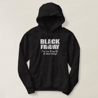 取り引きのTシャツのための金曜日の黒いおもしろいなショッピング パーカ