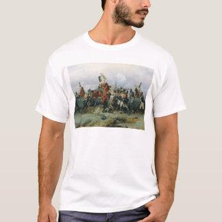 取付けられた連隊の巧績 Tシャツ