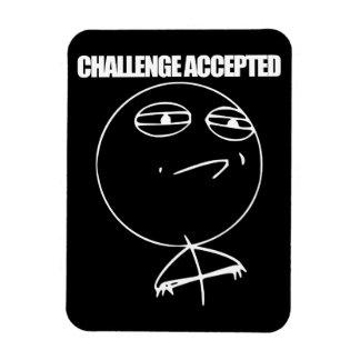 受け入れられる挑戦 マグネット