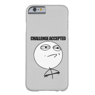 受け入れられる挑戦 BARELY THERE iPhone 6 ケース