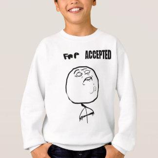 受け入れられるfap スウェットシャツ