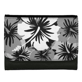 叙事詩のハイビスカスのハワイの花の財布