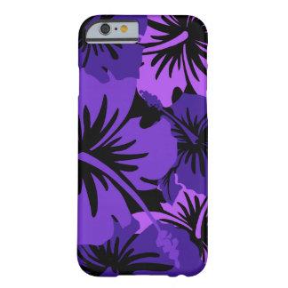 叙事詩のハイビスカスの花柄のハワイアン BARELY THERE iPhone 6 ケース