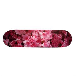 叙事詩のピンクの花のスケートボード 18.4CM ミニスケートボードデッキ