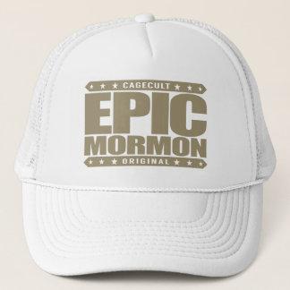 叙事詩のモルモン教徒-戦士の近代の聖者教会常連客 キャップ