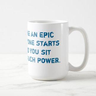 叙事詩の冗談 コーヒーマグカップ