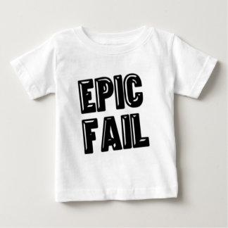 叙事詩の失敗 ベビーTシャツ
