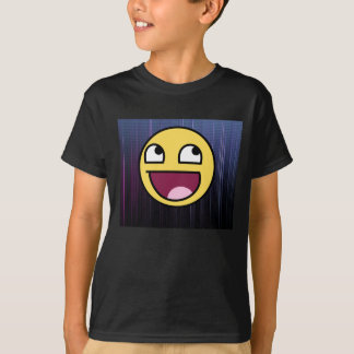 叙事詩の顔および背部パターンワイシャツ Tシャツ