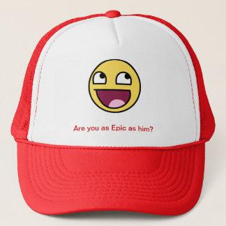 叙事詩の顔の帽子 キャップ