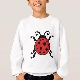 叙情的なてんとう虫 スウェットシャツ